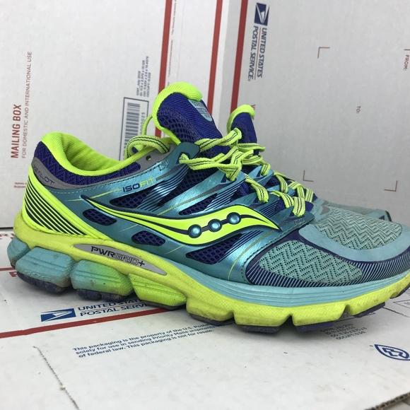 SAUCONY ISO SERIES Zealot Wode los hombres Running Shoes US 8.5 EU 40